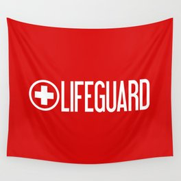 Lifeguard Wall Tapestry