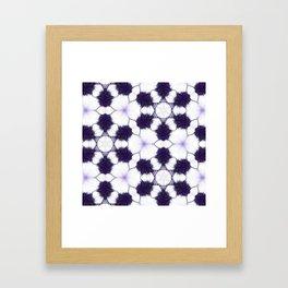 Purple Passion Pattern 5 Framed Art Print