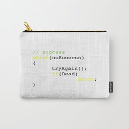 Algorithm of success Carry-All Pouch