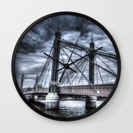 The Albert Bridge London  Wall Clock