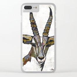 Serengeti Wildlife 2 Clear iPhone Case