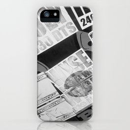 Urban Print iPhone Case