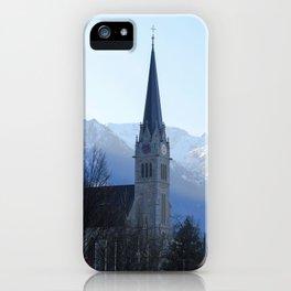 Liechtenstein iPhone Case