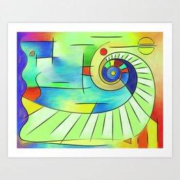 Wainissium - stairway to the sun Art Print