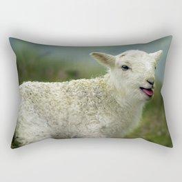 sweet little lamb Rectangular Pillow