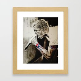 Chester Bennington Framed Art Print