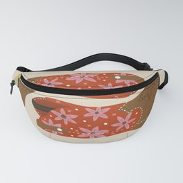 Cowgirl Boots – Coral & Pink Fanny Pack