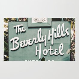 The Beverly Hills Hotel - Vertical Rug