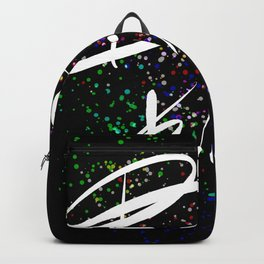 Be kind positive quote Backpack