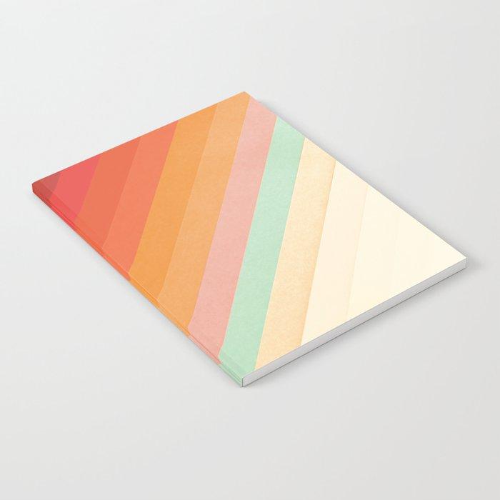 Rainbow Chevrons Notebook