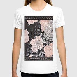 Pink Stencil T-shirt