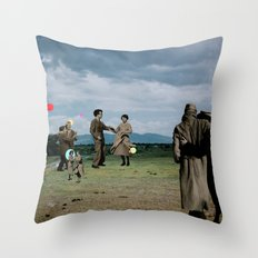 It's a Fine Day Throw Pillow