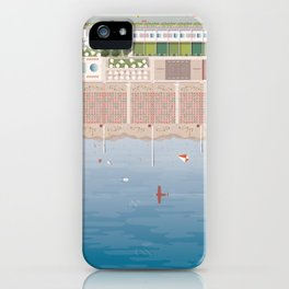 GULLIVER ON THE BEACH iPhone Case