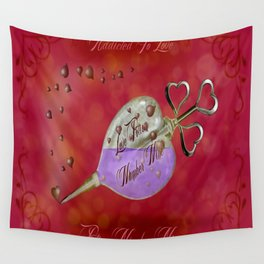 ADDICTED TO LOVE - 180 Wall Tapestry