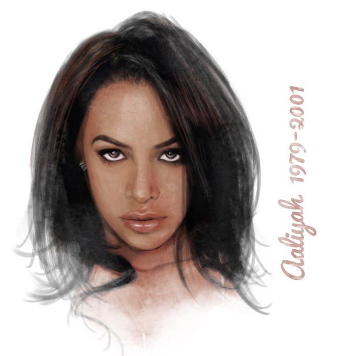 Aaliyah Duvet Cover