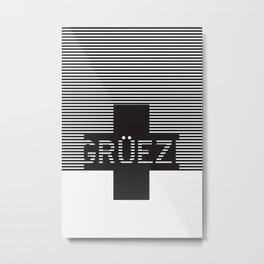 Gruezi//Nineteen Metal Print
