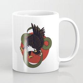 Eagle Vs Snake Coffee Mug