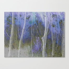 Spectral Forest Canvas Print