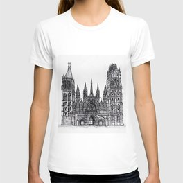 Rouen Cathedral T-shirt