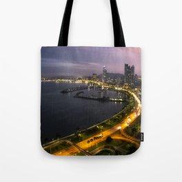 Panama City at Dusk Tote Bag