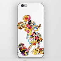 mickey iPhone & iPod Skins featuring mickey by acorn