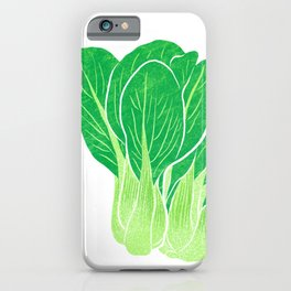 Illustration of Chinese cabbage iPhone Case