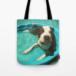 SERENA (shelter pup) Tote Bag