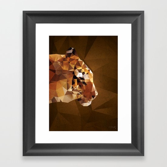 The Tiger Framed Art Print