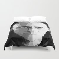 tom hiddleston Duvet Covers featuring TOM by THE USUAL DESIGNERS
