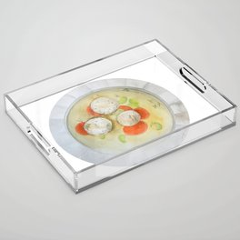 Matzo Ball Soup Acrylic Tray