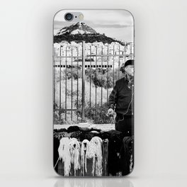 Man and Mountain iPhone Skin