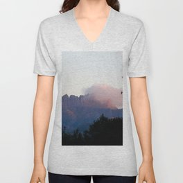 Cradle Mountain Sunrise Unisex V-Neck