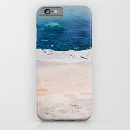 Crested Pool - Abstract Nature Photography iPhone Case
