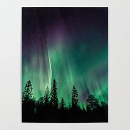 Aurora Borealis (Heavenly Northern Lights) Poster