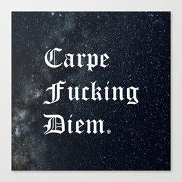 Carpe Diem (Seize The Day) Canvas Print