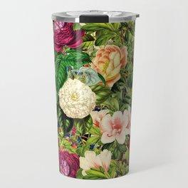 Vintage Floral Garden Travel Mug