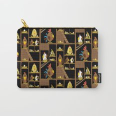 Chicken Coop Carry-All Pouch