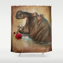 Feeling Strong Shower Curtain