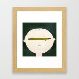 APRIL : Framed Art Print
