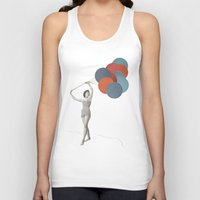 balloons Tank Tops featuring Balloons by Cassia Beck