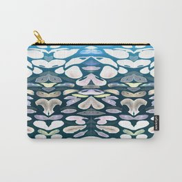 Under The Sea Summer Swimming Lessons, Dark Blue Carry-All Pouch