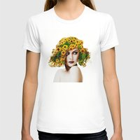 sunflowers T-shirts featuring Sunflowers by EclipseLio