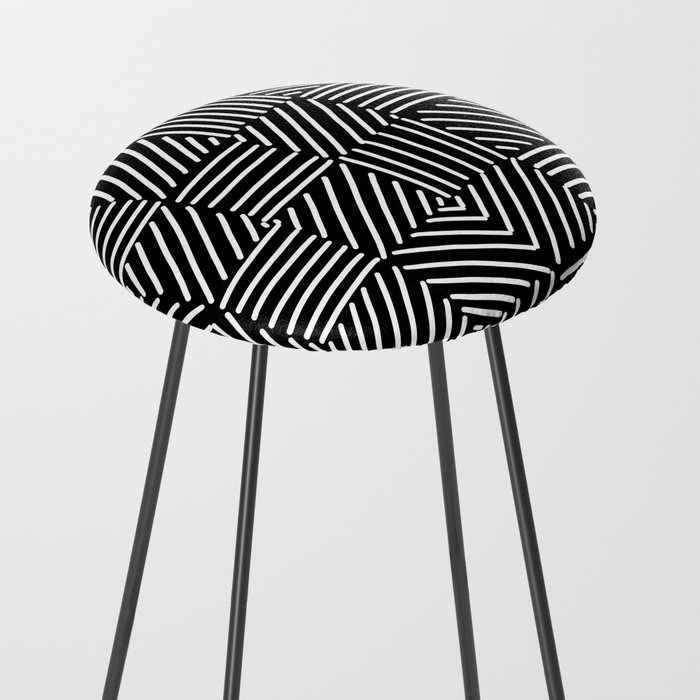 Sketching Abstraction Counter Stool