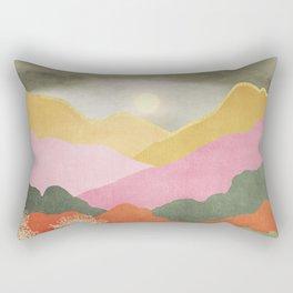 Colorful mountains Rectangular Pillow