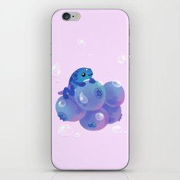 Blueberry poison yogurt 1 iPhone Skin