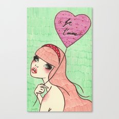 Balloon Girl 1 Canvas Print