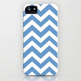 Livid - blue color - Zigzag Chevron Pattern iPhone Case