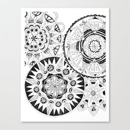 Mandala Series 02 Canvas Print