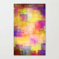 carnival Canvas Prints featuring Carnival by SensualPatterns