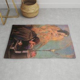Delacroix - George Sand et Frédéric Chopin Rug
